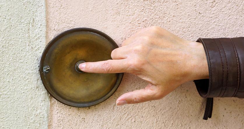 Wenn Vertreter an der Haustüre klingeln: Vorsicht!