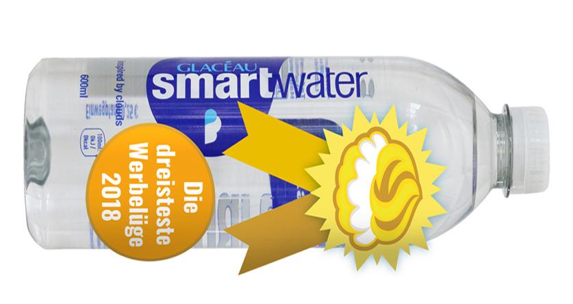"""Goldener Windbeutel 2018 für """"Smartwater"""" von Coca-Cola"""