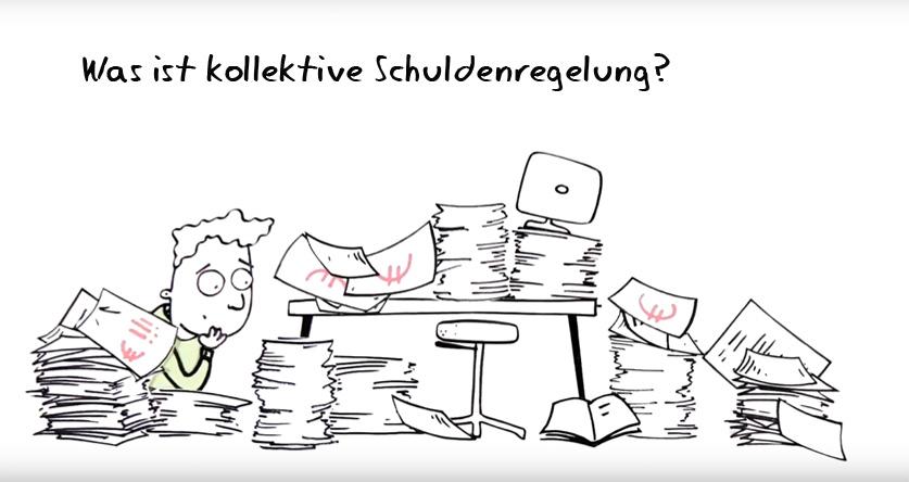 Was ist kollektive Schuldenregelung?