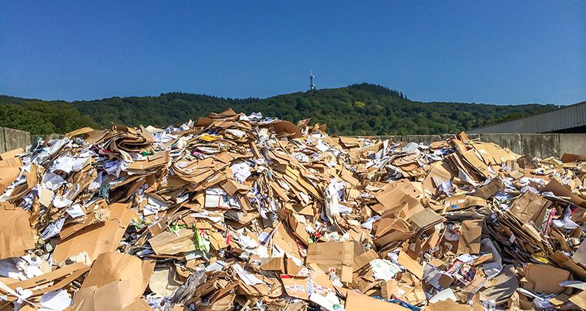 Papier sparen und Recyclingpapier nutzen