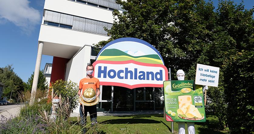 """Attribution du """"Goldener Windbeutel 2020"""" au fromage """"Grünländer"""""""